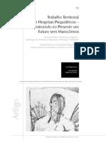 Trabalho Hospitais Psiquiátricos