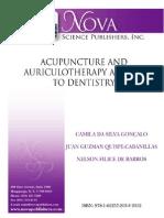 Acupuntura e odontologia