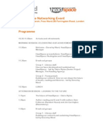 HeadSpace Networking Day Programme