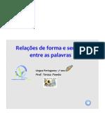 LP7 Relacoes Forma Sentido