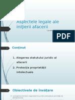 1.Aspectele Legale Ale Ini__ierii Afacerii