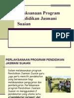Pelaksanaan Program Pendidikan Jasmani Suaian