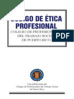 Codigo Etica Trabajadores Sociales Pr