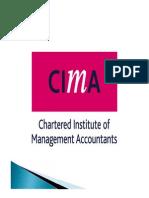 CIMA C1 Unit 7 2012