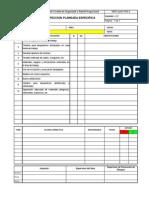 6.-Formatos de Inspecciones - Orden y Limpieza