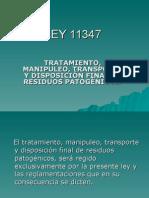 Ley 11347