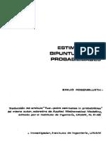 Estimaciones Bipuntuales en Probabilidad Rosenblueth