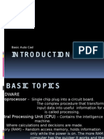 Basic CAD Introduction