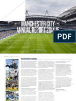 Manchester City FC,  Annual Report 2014/15