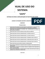 Manual Sistema - Gestor e Cadastrador Samu