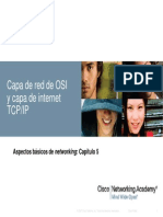 Capa de Red de OSI y Caa de Internet TCPIP