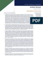 BPI Análise Mercados Financeiros Abr.2015