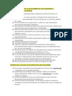 DECRETOS E LEIS - Dispensa e Inexigibilidade de Licitação - Requisitos