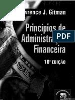 Princípios de Administração Financeira (10ed)- Lawrence J. Gitman