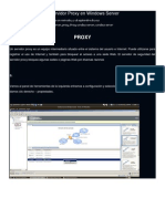Configuración de Un Servidor Proxy en Windows Server