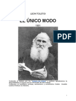 El Unicom o Do Leon Tolstoi