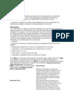 Contaminantes de fluidos de perforacion