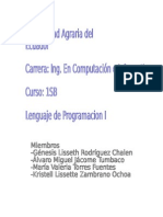 Traductores Del Lenguaje de Programacion