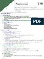 Q002 - Pneumothorax