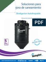 Manual Instalacion Biodigestor Medidas