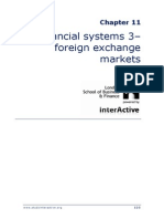 Chapter 11 Foreign Exchange Markets