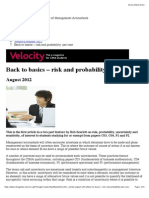 Back to Basics – Risk and Probability_ Part One
