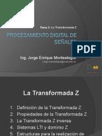 Tema 3 La Transformada Z