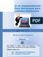 Implementacion de Datawarehouse