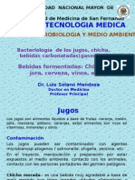 Bacteriologia de Los Jugos y Bebidas Fermentadas 29-09-2014