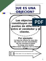 VENTAS BAJO OBJECIONES.ppt