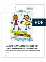 Manual Para Familias Con Hijos Con t.e.l. 2014