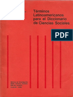 Diccionario Cs Sociales CLACSO