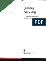 Index Quaternary Palaeoecology