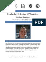 Manifesto for Douglas East