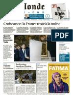 Le Monde 03 Octobre 2015