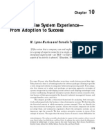 The Enterprise System Experience - From Adoption to Success