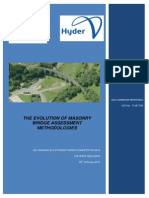 The Evolution of Masonry Bridge Assessment Methodologies