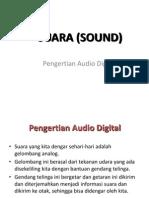 Suara (Sound) Pengertian Audio Digital Materi Konsep Multimedia