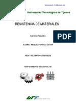 Ejercicios Resueltos Resistencia de Materiales