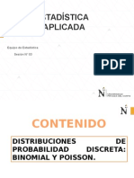 Sem3-Distribuciones de Variable Discreta