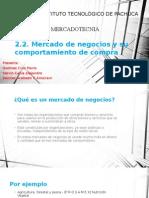 2.2.Mercado de Negocios y Su Comportamiento