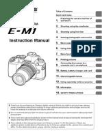 Olympus E-M1 Manual