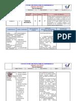 Decimo Plan Asignatura Química Periodos Tres y Cuatro Año 2015