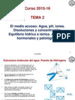 2.Agua e Iones