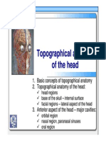 01 Topographic Anatomy of the Head Head Regions ENG