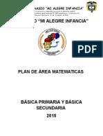 Plan de Area de Matematicas 1-9