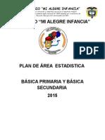 Plan de Area de Estaditica 1.-9