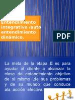 Entendimiento integrativo