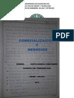 Examen de Comercializacion y Negocios JUDITH MARCELA CRUZ