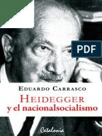 Carrasco-Heidegger y El Nacionalsocialismo